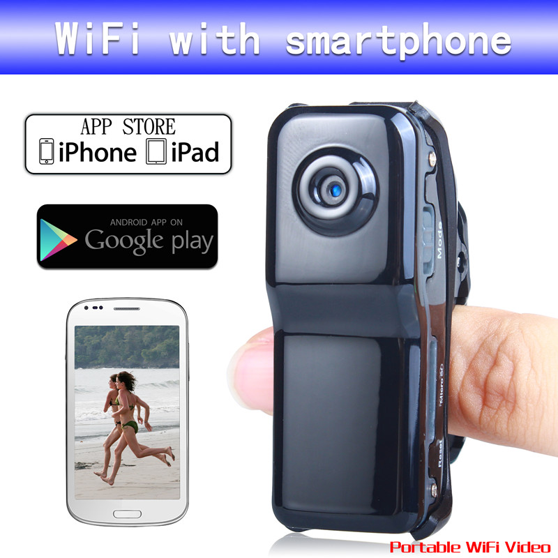 WF-99S Wireless IP Spy Hidden Camera Wifi Sport Mini DV