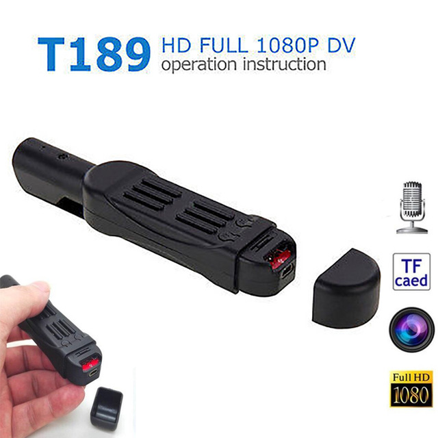 T189 HD 1080P Portable Handheld Mini DV