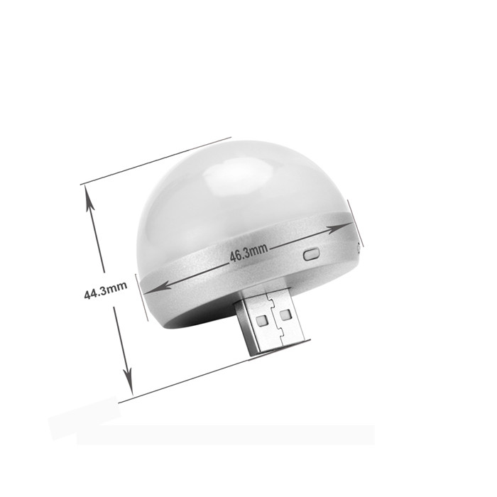 Hd 1080p Portable Usb Night Lamp Camera Light Bulb With