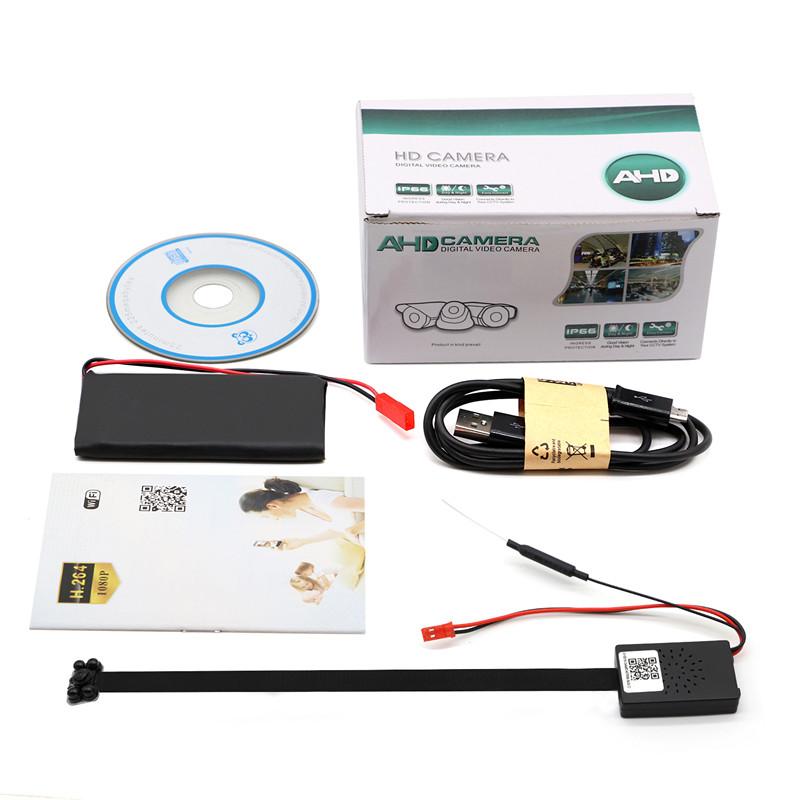 Z66 Mini Full Hd 1080p Spy Hd Hidden Camera Diy Module Wifi